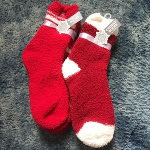 Holiday Fuzzy Socks